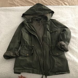 Forever 21 green jacket | S
